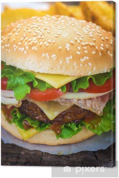 Obraz na płótnie Burger - Tematy