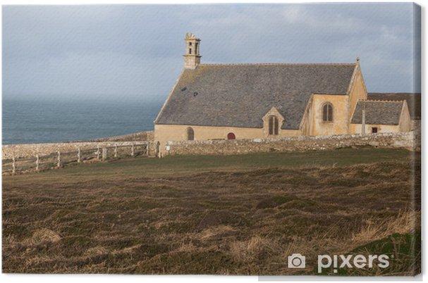 Obraz na płótnie Burza, Bretania - Klęski żywiołowe