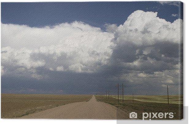 Obraz na płótnie Burzliwe niebo wiejskich colorado - Niebo