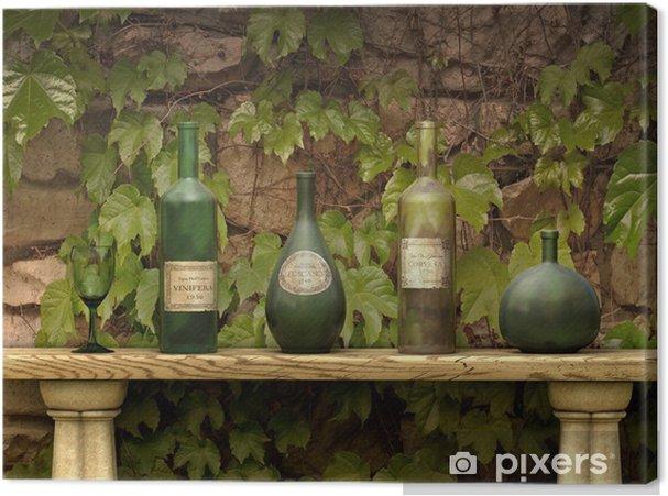 Obraz na płótnie Butelek wina - Alkohol