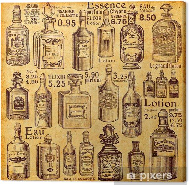 Obraz na płótnie Butelki i perfumy - Style