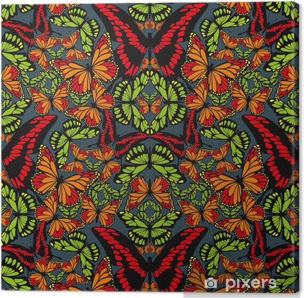 Obraz na płótnie Butterfly wallpaper - Tła