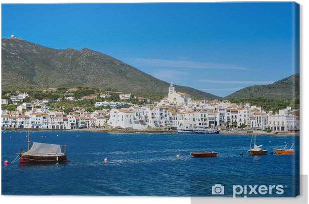 Obraz na płótnie Cadaques, Bay, Hiszpania - Europa