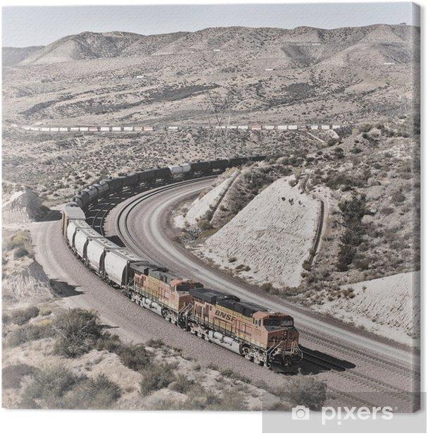 Obraz na płótnie Cajon Pass - Przemysł ciężki