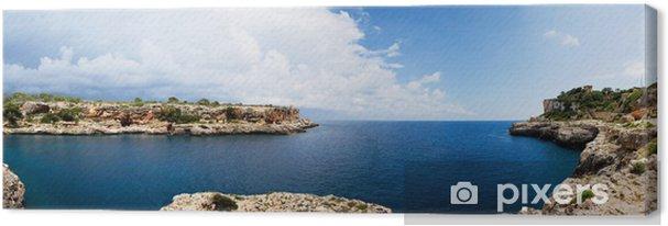 Obraz na płótnie Cala Figuera Panorama - Woda
