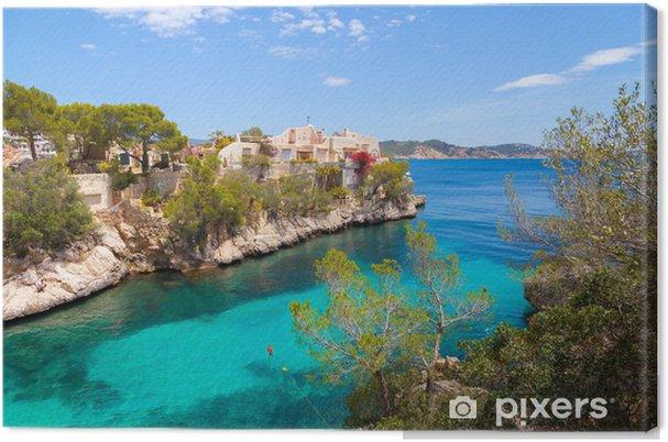 Obraz na płótnie Cala Fornells Zobacz w Paguera, Majorka - Europa