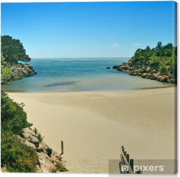 Obraz na płótnie CALAFATO Beach Cove w hiszpanii morza migdałów, - Europa