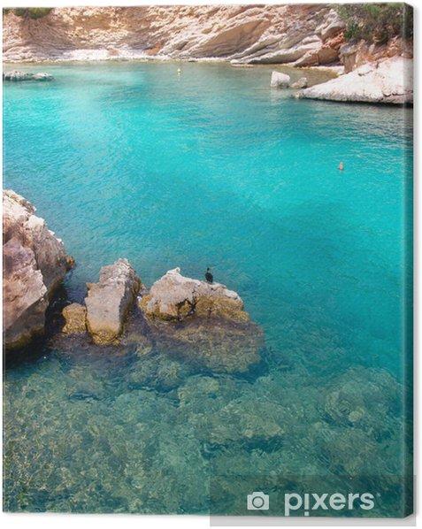 Obraz na płótnie Calvia Cala Fornells turkus Śródziemnego w Majorka - Europa
