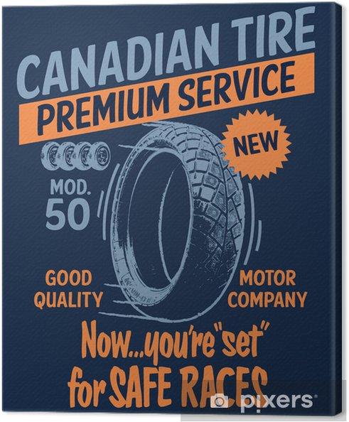 Obraz na płótnie Canadian serwis opon - Sporty ekstremalne