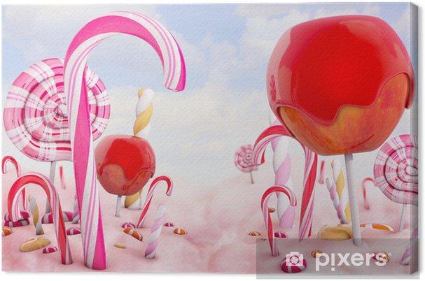 Obraz na płótnie Candy Land - Tematy