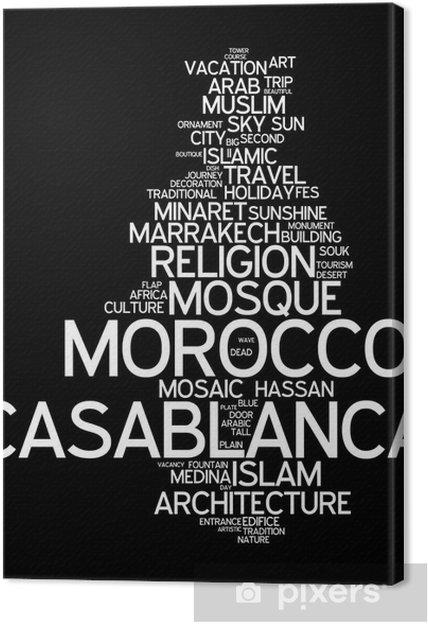 Obraz na płótnie Casablanca (Maroko) - Afryka