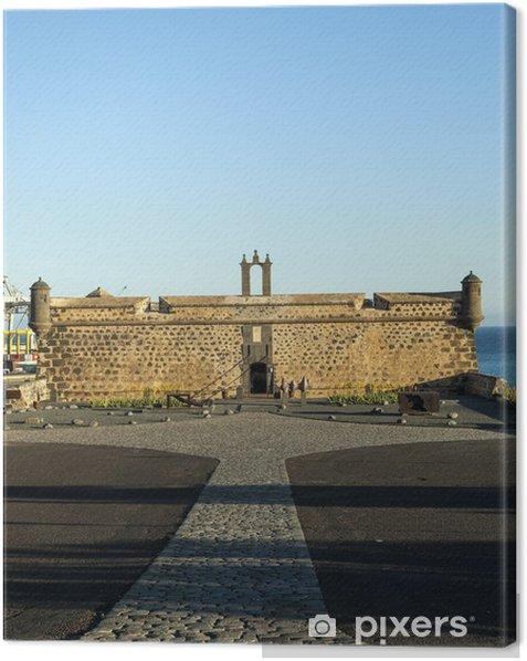Obraz na płótnie Castillo de San Jose w Arrecife - Afryka