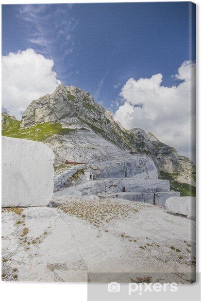 Obraz na płótnie Cave di Marmo - Apuańskie - Przemysł ciężki
