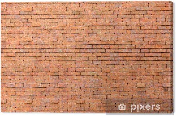Obraz na płótnie Ceglana ściana - Tła