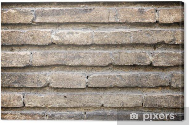 Obraz na płótnie Ceglana ściana - Tematy