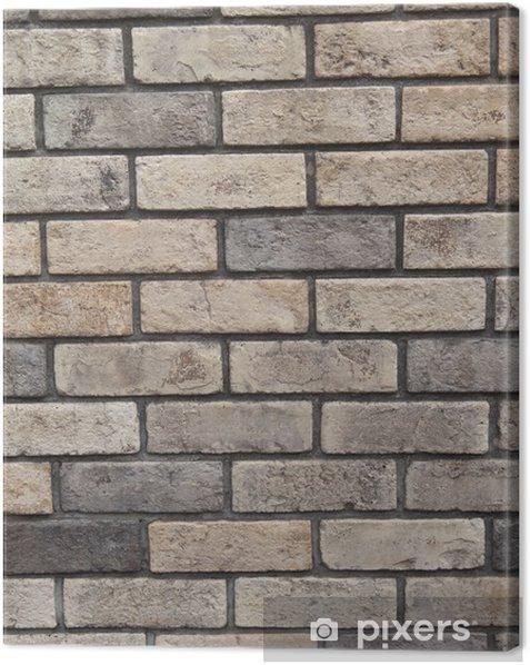 Obraz na płótnie Ceglane mury - Tła
