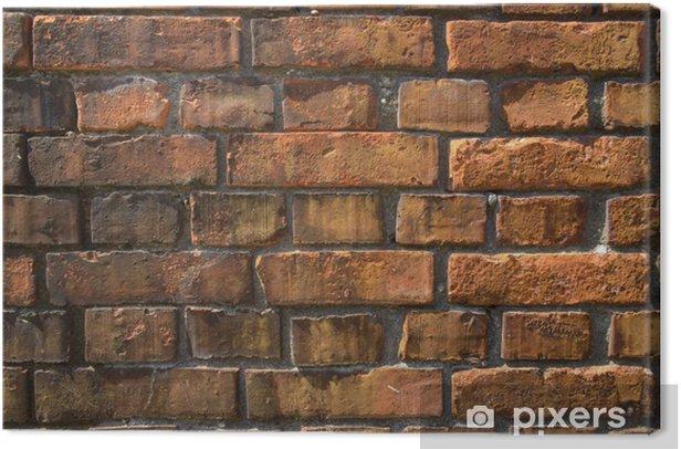 Obraz na płótnie Ceglany mur w tle - Przemysł ciężki