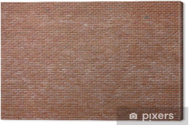Obraz na płótnie Cegły - Tła