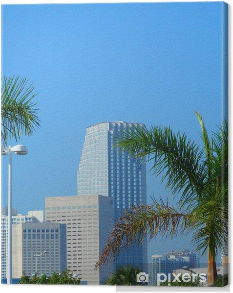 Obraz na płótnie Centrum Miami - Wakacje