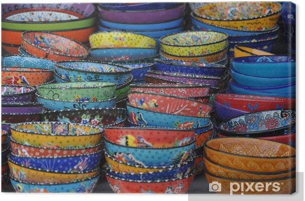 Obraz na płótnie Ceramika tureckie - Wakacje