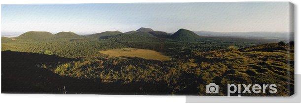 Obraz na płótnie Chaine des puys - Góry