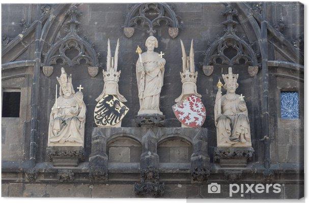 Obraz na płótnie Charles Tower Bridge, Praga - Europa
