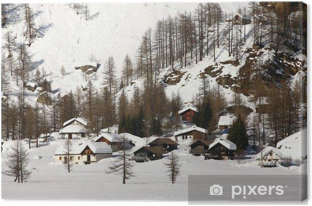 Obraz na płótnie Chaty Alpe Devero - Europa