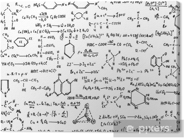 Obraz na płótnie Chemia - Nauki stosowane i ścisłe