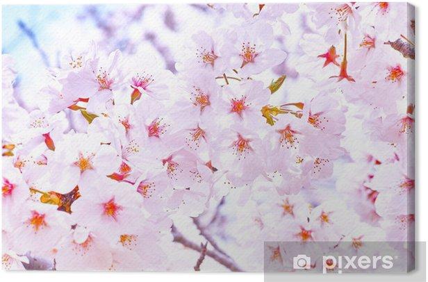 Obraz na płótnie Cherry Blossoms - Ptaki