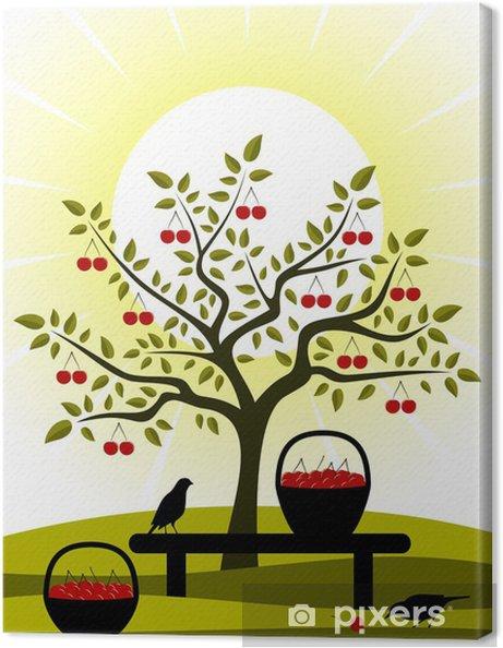 Obraz na płótnie Cherry żniwa - Pory roku