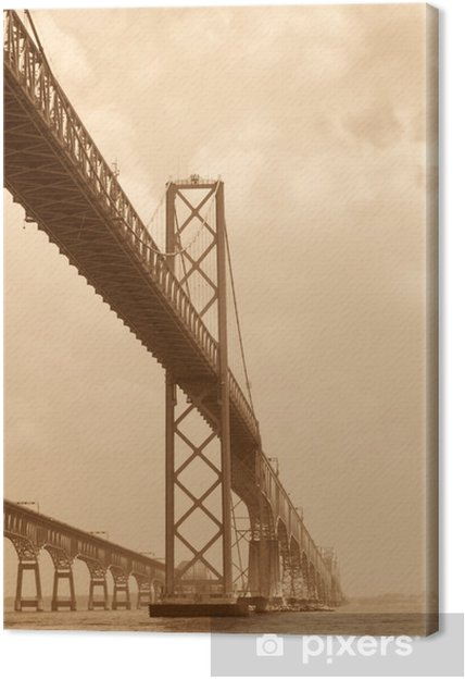 Obraz na płótnie Chesapeake Bay Bridge - Infrastruktura