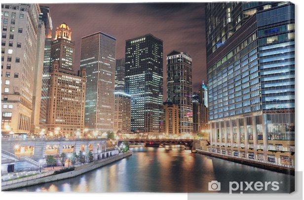Obraz na płótnie Chicago River Walk - Tematy