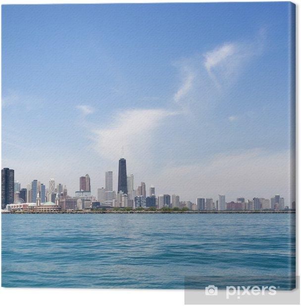 Obraz na płótnie Chicago Skyline - Ameryka