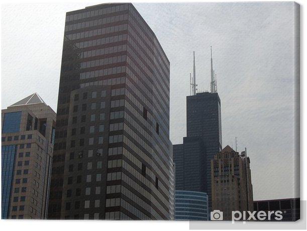 Obraz na płótnie Chicago Skyline - Tematy