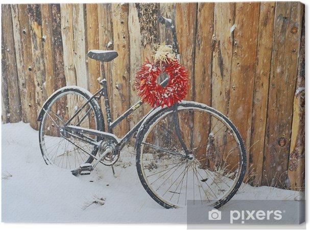 Obraz na płótnie Chillie papryki i rower - Święta międzynarodowe
