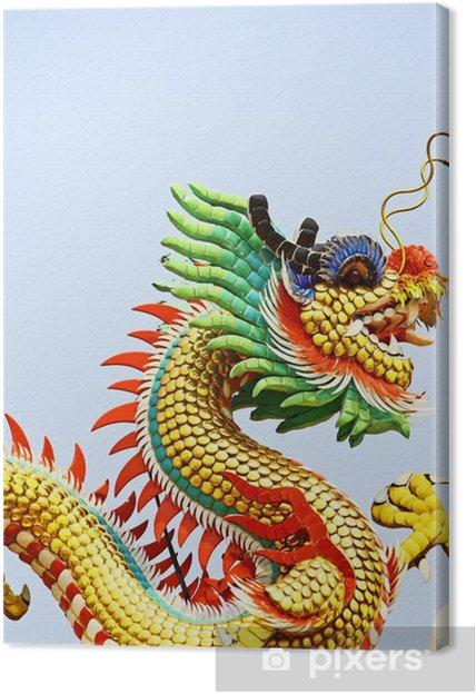 Obraz na płótnie Chiński smok - Zabytki