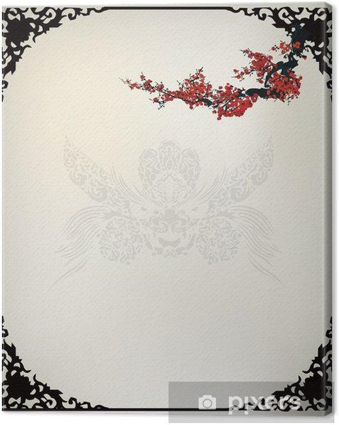 Obraz na płótnie Chiński Tło - Znaki i symbole