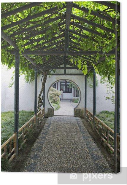 Obraz na płótnie Chiński tradycyjny ogród - Suzhou - Chiny - Azja