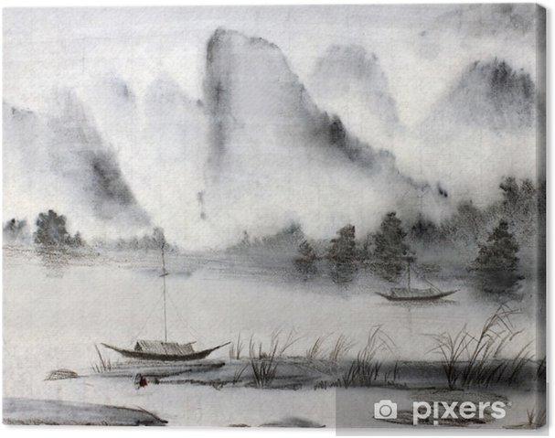 Obraz na płótnie Chińskich malowanie - Hobby i rozrywka