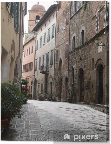 Obraz na płótnie Chiusi - jedno z najstarszych miast etruskich w Toskanii - Europa