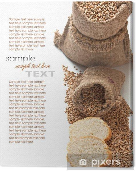Obraz na płótnie Chleb i zboża - Tekstury