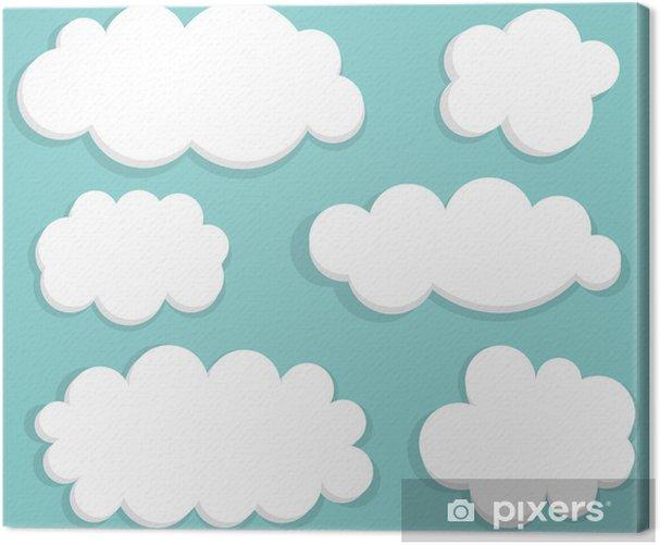 Obraz na płótnie Chmury - Niebo