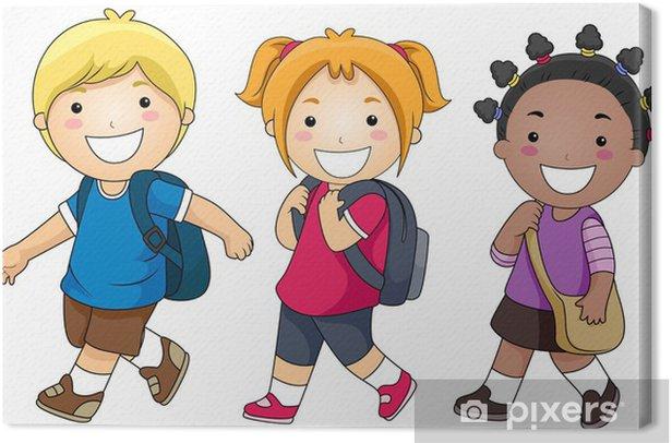 Obraz na płótnie Chodzić do szkoły - Edukacja