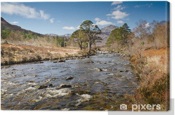 Obraz na płótnie Chropowaty Rzeka - Wakacje