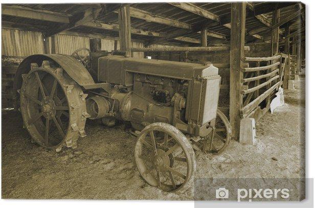 Obraz na płótnie Ciągnik - Rolnictwo