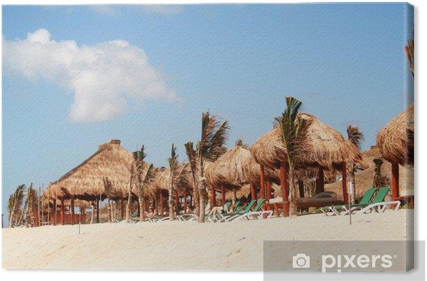 Obraz na płótnie Cień na plaży - Ameryka