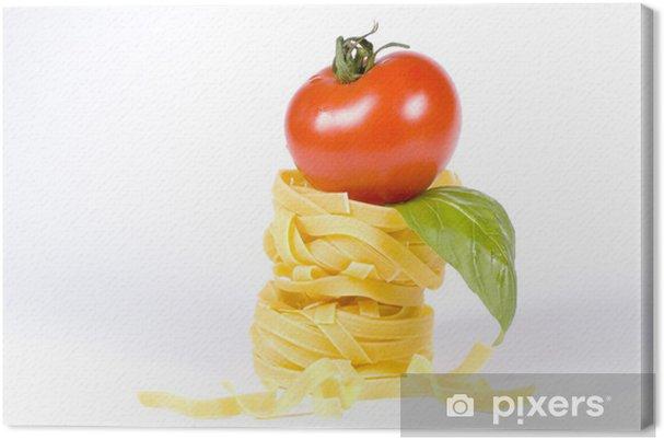Obraz na płótnie Cieszyć się obiad z makaronem -