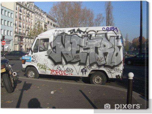 Obraz na płótnie Ciężarówka - Sztuka i twórczość