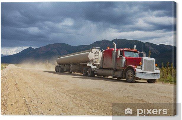 Obraz na płótnie Ciężarówka - Przemysł ciężki