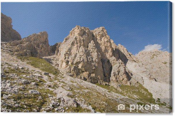 Obraz na płótnie Cirspitzen - Dolomity - Alpy - Europa